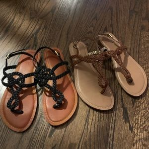 Target brand strappy sandals